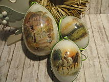 Dekorácie - Veľkonočné vajíčka Na vidieku - 9336626_
