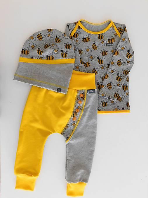 e03288a843f8 Súprava Let it Bee   JIM - SAShE.sk - Handmade Detské oblečenie