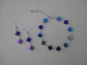 Sady šperkov - Sada šperkov - hematit - 9336668_