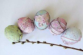 Dekorácie - Veľkonočné vajíčka - pastelové - 9334961_
