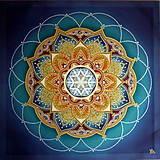 Obrazy - Harmonizačná mandala Posvätnej jednoty - 9334139_