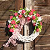 Dekorácie - Romantický venček - 9335742_