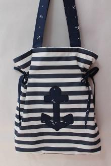 Veľké tašky - Taška-Mariet  námornícka... - 9334489_