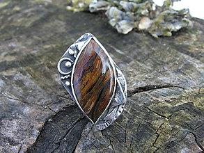 Prstene - Strieborný prsteň Ag925 Pieterzit - 9334432_