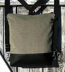 "Batohy - ""backpack 2in1 basic"" - Batoh & taška cez rameno - 9336639_"
