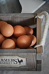 Nábytok - Farmárska debnička na vajíčka a všeličo iné... - 9336301_