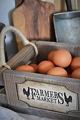 Nábytok - Farmárska debnička na vajíčka a všeličo iné... - 9336302_