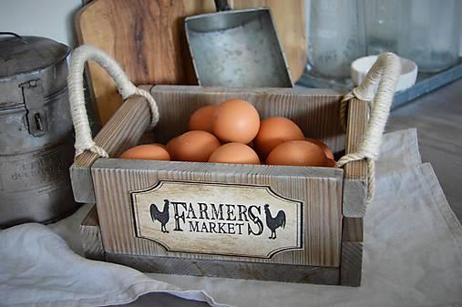Farmárska debnička na vajíčka a všeličo iné...
