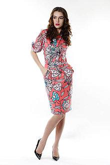 Šaty - Šaty svieža oáza - 9338357_