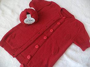 Detské oblečenie - Detský Merino svetrík 110/116 - 9338824_