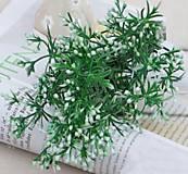 Iný materiál - Zeleň s bobuľkami - 1 dvojvetvička - 9337616_