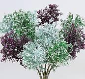 Iný materiál - Zeleň s bobuľkami - 1 dvojvetvička - 9337635_