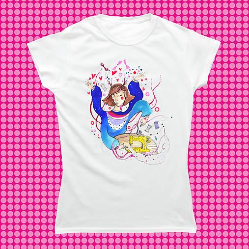 Ľubka na tričku/ Gildan