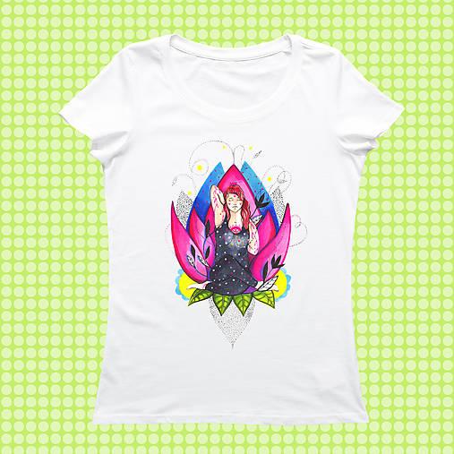 Joga dievča na tričku/ Stedman