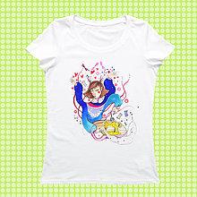 Tričká - Ľubka na tričku/ Stedman - 9339875_