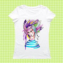 Tričká - Námorníčka na tričku/ Stedman - 9340022_