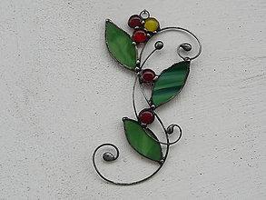 Dekorácie - Rozkvitnutá halúzka - 9338775_
