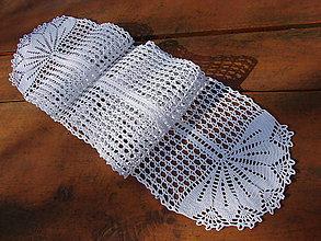 Úžitkový textil - háčkovaná štóla