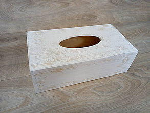 Krabičky - Krabička na vreckovky - 9338377_