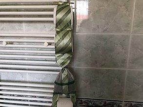 Pomôcky - Zásobník na wc papier z kravaty - 9338134_
