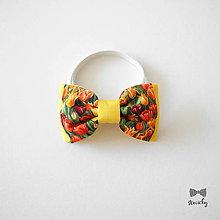 Detské doplnky - Detský motýlik Fanfán Tulipán - 9337135_