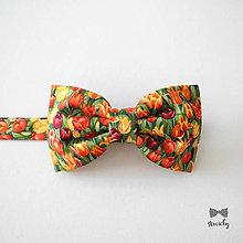 Doplnky - Pánsky motýlik Fanfán Tulipán - 9337842_