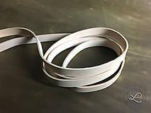 Polotovary - Kožený pásik prírodný (2mm -2,5mm) - 9340225_