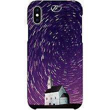 Na mobil - Kryt s motívom nočnej oblohy - Kostol pre Apple, Huawei, Samsung - 9338199_