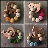 - Háčkované drevené hryzátka  - 9340136_