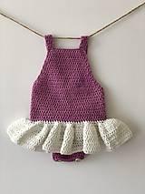 Detské oblečenie - Detské body Balerína / Bodysuit Ballerina - 9338674_