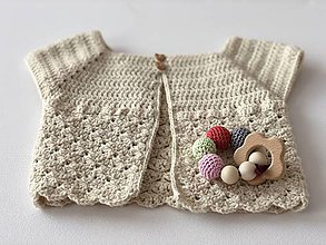 Detské oblečenie - Svetrík Snowflake / Snowflake Sweater - 9338098_