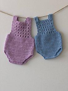 Detské oblečenie - Bodýčko Orchid / Bodysuit Orchid (9 - 12 mesiacov) - 9338104_
