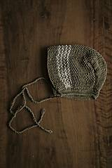 Detské čiapky - Retro čepček - 9341279_