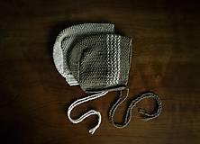 Detské čiapky - Retro čepček - 9341280_