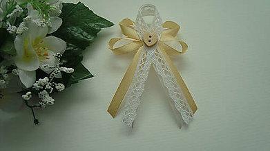 Pierka - Veľké svadobné pierko so srdiečkom..... - 9337553_