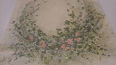 Obrazy - Babičkine ruže - 9340033_