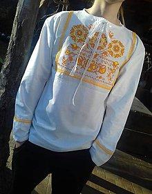 Oblečenie - Pánska folklórna košeľa - 9340490_