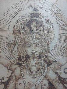 Obrazy - Kálí Maa Mantra - 9343521_