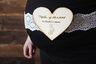 Tehotenské oblečenie - Tehotenský opasok - 9343890_