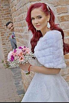 Náušnice - Ava - nielen svadobné štebotavé náušnice - 9341468_