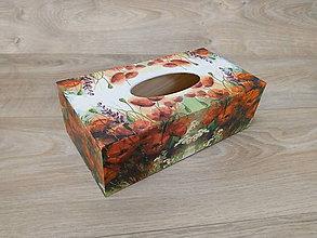 Krabičky - Krabička na vreckovky - 9342379_