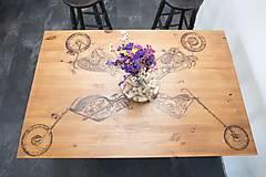 Nábytok - Jedálenský stôl - motorka - 9342143_