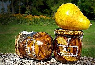 Potraviny - Med a sušené hrušky - 9343850_