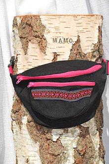 Iné tašky - Pinky-black ľadvinka - 9342270_