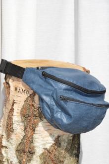Iné tašky - Modrá ľadvinka - 9342353_