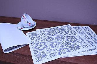 Úžitkový textil - Prestieranie - trošku elegantné :-) - 9341459_