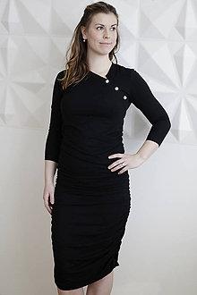 Tehotenské oblečenie - Tehotenské šaty/ na dojčenie - 9342636_