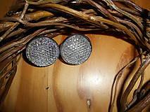 Náušnice - Náušnice napichovacie 20mm - 9343464_
