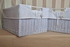 Košíky - Nadrozmerné šatníkové boxy SWET HOME / ks - 9341708_