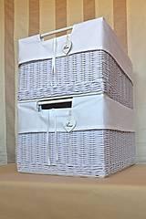 Košíky - Nadrozmerné šatníkové boxy SWET HOME / ks - 9341712_